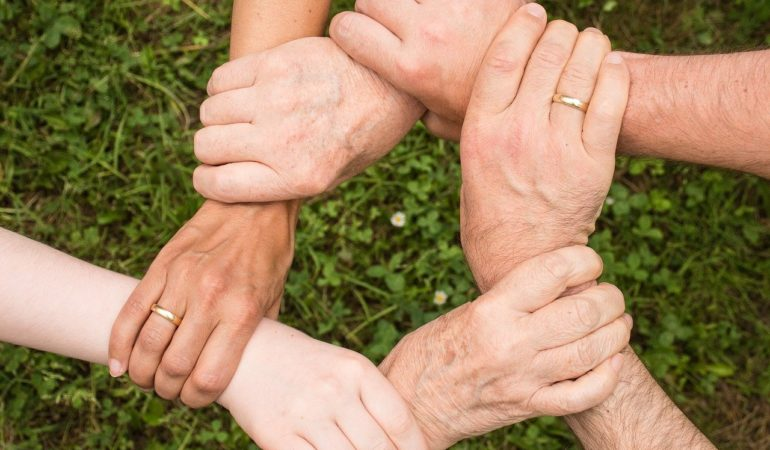 Team Spirit Teamwork Community  - Anemone123 / Pixabay